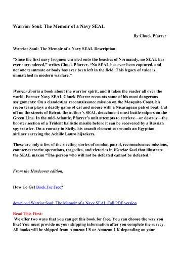 Navy seals workout book pdf dandk