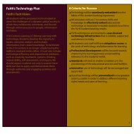 Learning With Laptops - Faith Lutheran Middle School and High ...