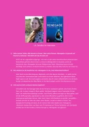 zum Interview mit J.A. Souders - Piper-Fantasy.de