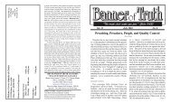 Preaching, Preachers, People, and Quality Control - Banner of Truth