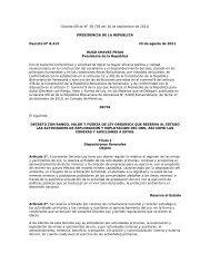 decreto con rango, valor y fuerza de ley organica que ... - cpzulia.org
