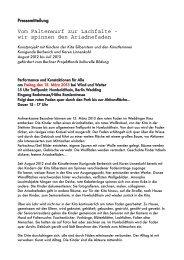 wir spinnen den Ariadnefaden - Berliner Projektfonds Kulturelle ...