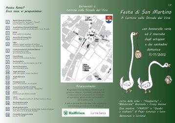 Festa di San Martino A Cortina sulla Strada del Vino con bancarelle ...