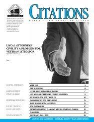 local attorneys' civility a problem for veteran litigator