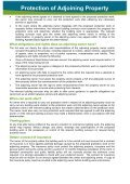 Protection of Adjoining Property - Page 2