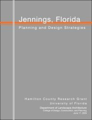 Jennings, Florida - College of Natural Resources and Environment