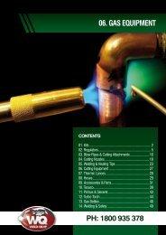 06. GAS EQUIPMENT Ph: 1800 935 378 - Weld-Quip