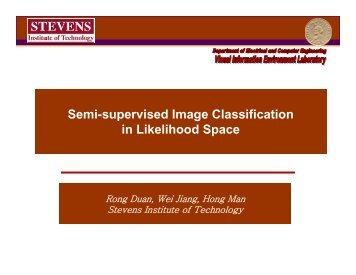 Semi-supervised Image Classification in Likelihood Space