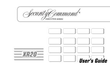 dmp xr200 allied fire security rh yumpu com Security Command Executive Series XR200 Security Command Executive Series Keypad