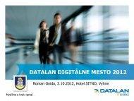 Prezentácia programu PowerPoint - DATALAN, as