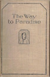1924 The Way to Paradise - A2Z.org