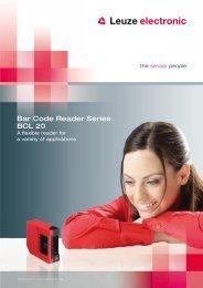 Bar Code Reader Series BCL 20 - Leuze electronic