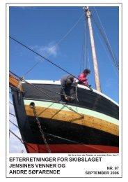 efterretninger for skibslaget jensines venner og andre søfarende