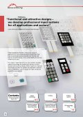 INPUT UNITS ELECTRONICS SERVICES - Bopla - Page 6