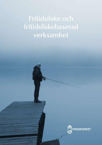 Fritidsfiske och fritidsfiskebaserad verksamhet - Havs- och ...