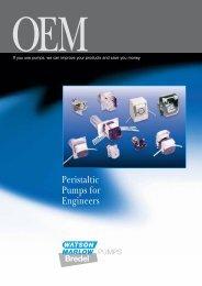 OEM overview brochure - Watson-Marlow