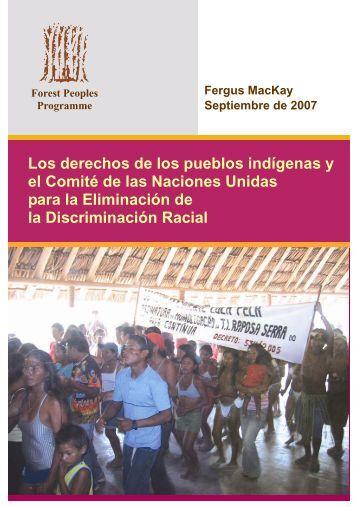 Los derechos de los pueblos indígenas y el Comité de las Naciones ...