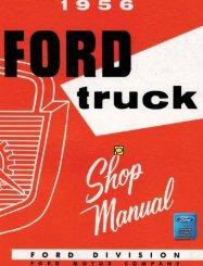 DEMO - 1956 Ford Truck Shop Manual - ForelPublishing.com