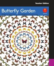 TE The Butterfly Garden pages