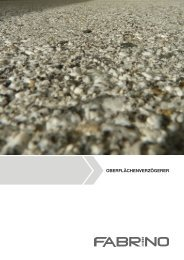 Flyer Oberflächenverzögerer (PDF) - fabrino
