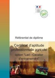 Référentiel de diplôme - ChloroFil