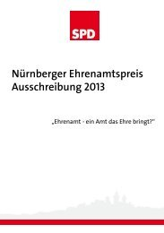 Nürnberger Ehrenamtspreis Ausschreibung 2013 - Angelika Weikert