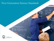 Presentation - Council of State Science Supervisors