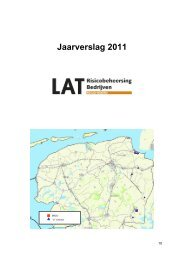 Jaarverslag 2011 van Regio Noord