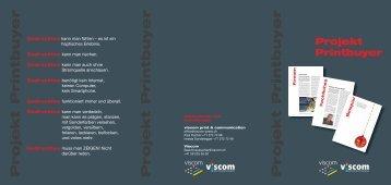 Projekt Printbuyer Projekt Printbuyer Projekt Printbuyer - Viscom