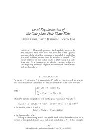 Local regularization of the one-phase Hele-Shaw flow
