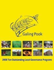 Layout of GPF 08 Souvenir Program.pmd - galing pook