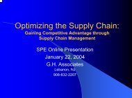 Gaining Competitive Advantage through Supply Chain Management