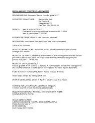 Regolamento integrale del Concorso 10 ordini gratis 2013