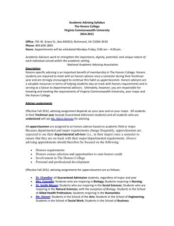 Education Abroad Course Approval Form - VCU Honors College