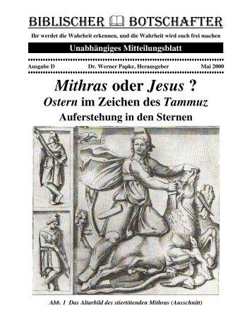 Ostern im Zeichen des Tammuz - Dr-Papke.de