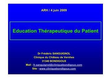 Dr F. SANGUIGNOL - Parhtage santé
