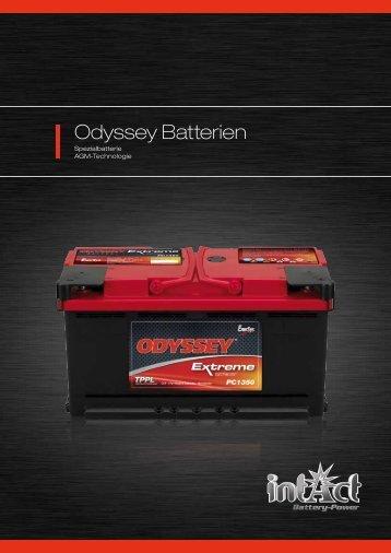 Odyssey Batterien