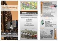 Flyer Laserscanner - HPM Vermessung
