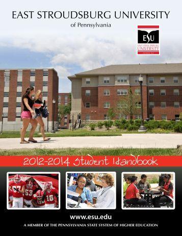 Student Handbook - East Stroudsburg University