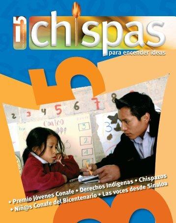 Revista: Chispas No. 5 - conafe.edu.mx
