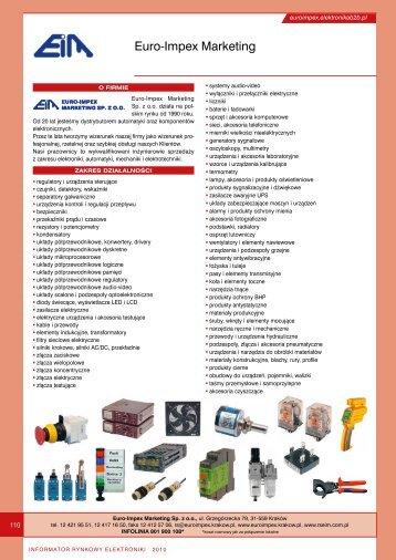 Euro-Impex Marketing - Elektronik