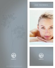 ACNE TREATMENTS - Life Time Fitness