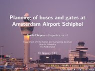 Planning of buses and gates at Amsterdam Airport Schiphol - LNMB