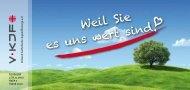Weil sie es uns wert sind - KJF Regensburg