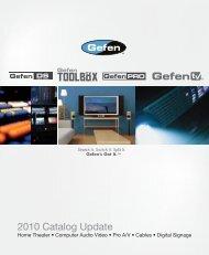 2010 Catalog Update - Gefen