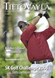 TIETOVÄYLÄ SK Golf Challenge 2008