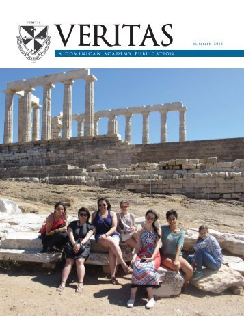 A DOMINICAN ACADEMY PUBLICATION summer 2012