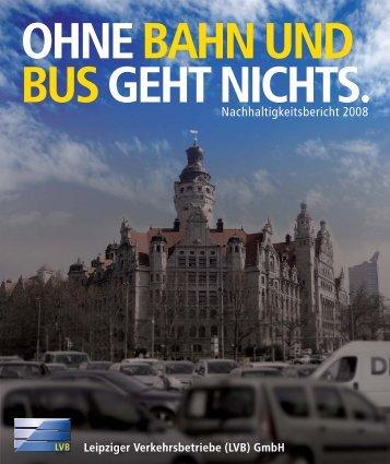 Nachhaltigkeitsbericht 2008 - Lvb