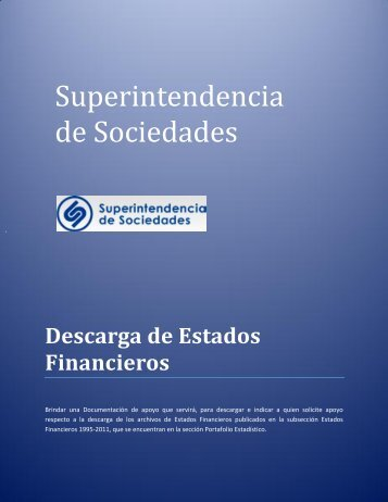 Descarga de Estados Financieros