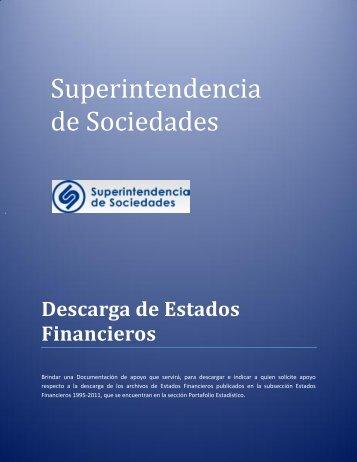 Descarga de Estados Financieros